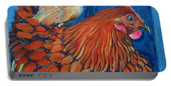Broody Beverly And Peachick Portable Battery Charger