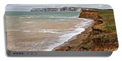 Brook Bay And Chalk Cliffs Portable Battery Charger