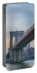 Brooklyn Bridge Sunset Portable Battery Charger