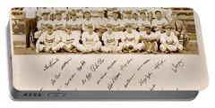Brooklyn Dodgers Baseball Team Portable Battery Charger
