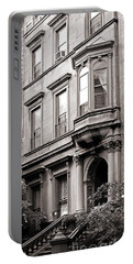 Brooklyn Heights -  N Y C - Classic Building And Bike Portable Battery Charger
