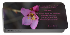 Portable Battery Charger featuring the photograph Brotherly Love by Larry Bishop