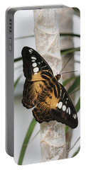 Brown Clipper Butterfly #2 Portable Battery Charger by Judy Whitton