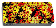 Brown Eyed Susans I Portable Battery Charger