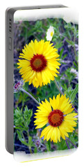 Brown- Eyed Susans Portable Battery Charger