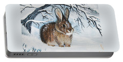 Brrrr Bunny Portable Battery Charger