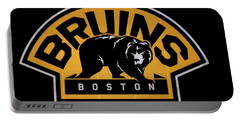 Portable Battery Charger featuring the photograph Bruins In Boston by Caroline Stella