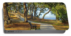 Portable Battery Charger featuring the photograph Brunswick Town by Cynthia Guinn
