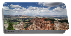 Portable Battery Charger featuring the photograph Bryce Point by Tammy Wetzel