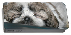 Portable Battery Charger featuring the photograph Bubba by EricaMaxine  Price