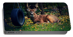 Buck In The Back Yard Portable Battery Charger