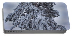 Buck Lake Flocked Pine Portable Battery Charger