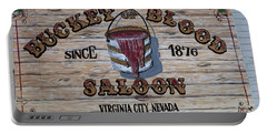 Bucket Of Blood Saloon 1876 Canvas Print,photographic Print,art Print,framed Print,greeting Card, Portable Battery Charger