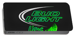 Bud Light Lime 2 Portable Battery Charger