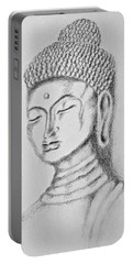 Buddha Study Portable Battery Charger by Victoria Lakes