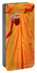 Buddhist Monk 02 Portable Battery Charger