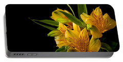 Portable Battery Charger featuring the photograph Budding Flowers by Sennie Pierson