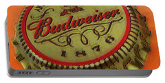 Budweiser Cap Portable Battery Charger