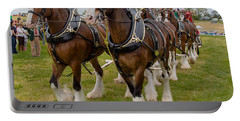 Budweiser Clydesdales Portable Battery Charger