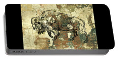 Portable Battery Charger featuring the photograph Buffalo 7 by Larry Campbell