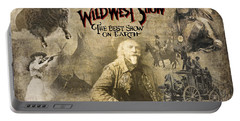 Buffalo Bill Wild West Show Portable Battery Charger