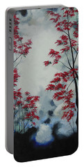 Portable Battery Charger featuring the painting Build Up Hope by Dan Whittemore