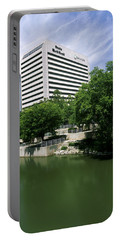 Building At The Waterfront, Qwest Portable Battery Charger