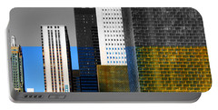 Building Blocks Cityscape Portable Battery Charger