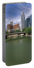 Buildings At The Waterfront, Omaha Portable Battery Charger