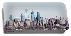 Buildings In A City, Comcast Center Portable Battery Charger by Panoramic Images