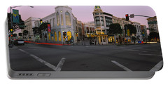 Buildings In A City, Rodeo Drive Portable Battery Charger by Panoramic Images