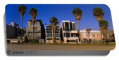 Buildings In A City, Venice Beach, City Portable Battery Charger