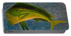 Bull Dolphin Mahimahi Fish Portable Battery Charger