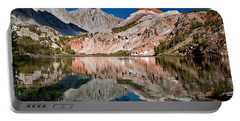 Bull Lake And Chocolate Peak Portable Battery Charger