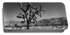 Bullet The Blue Sky - Joshua Tree N.p Portable Battery Charger by Henk Meijer Photography