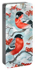 Bullfinch Couple Portable Battery Charger