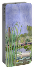 Bullrushes Portable Battery Charger