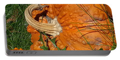 Bumpy And Beautiful Portable Battery Charger by Caryl J Bohn