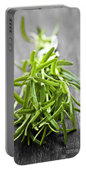 Bunch Of Fresh Rosemary Portable Battery Charger
