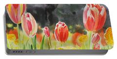 Bunch Of Tulips IIi Portable Battery Charger