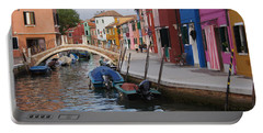 Burano Portable Battery Charger by Debi Demetrion