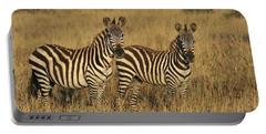 Burchells Zebraon Savanna Serengeti Portable Battery Charger