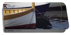 Burgundy Boat Portable Battery Charger