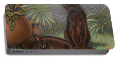 Burmese Beauty Portable Battery Charger by Cynthia House