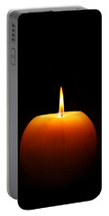 Burning Candle Portable Battery Charger
