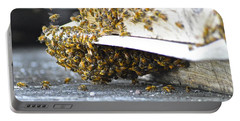 Busy Bees Portable Battery Charger by Laura Forde