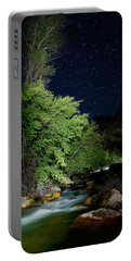 Portable Battery Charger featuring the photograph Busy Night by David Andersen