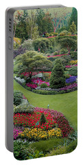 Butchart Gardens Portable Battery Charger by John M Bailey