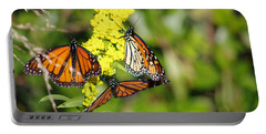 Butterflies Abound Portable Battery Charger by Greg Graham