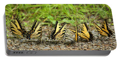 Butterflies Portable Battery Charger by Rowana Ray